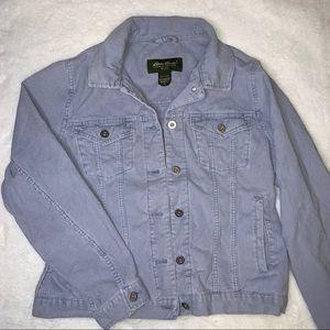 Eddie Bauer Light Blue Corduroy Jacket
